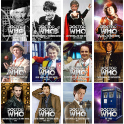 "DOCTOR WHO ""THE DOCTOR""  Due to the overwhelming success of my series devoted to the companions of the Doctor, I have decided to create a further set devoted to the backbone of the series we all love. Featuring every Doctor (and the TARDIS!) since 1963, there's something for everyone to love.Like last time, the full set can be viewed here."