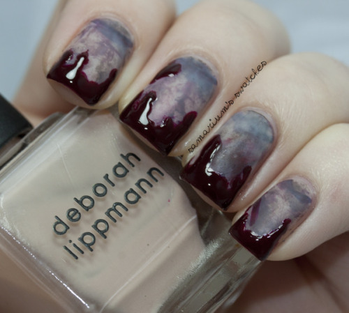 beautylish:  Awesome zombie manicure by Sarah E.!