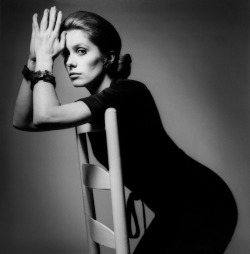Catherine Deneuve photographed by Jeanloup Sieff for Vogue | Paris, 1969