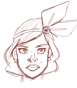 Trying to figure out what Carmen's face will look likeeeeeeeeee
