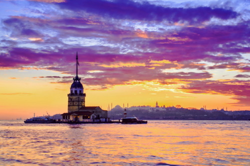 """Maiden's Tower"" by Erdal Suat"