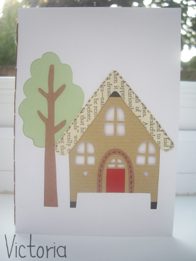 A little cabin card