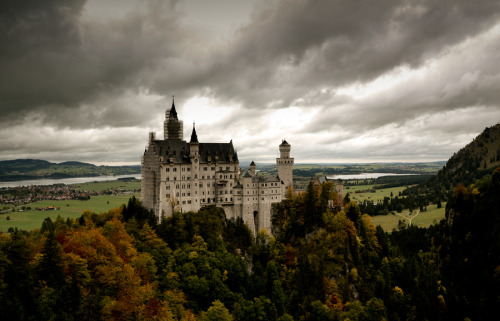 """magic place"" by Pamela Nocentini Neuschwanstein Castle is one of the symbols of Bavaria and Germany in the world. It 's the ultimate fairytale castle, built by the ""fairytale king"" Ludwig II (1845-1886) in 1869 to a design by designer Christian Jank."
