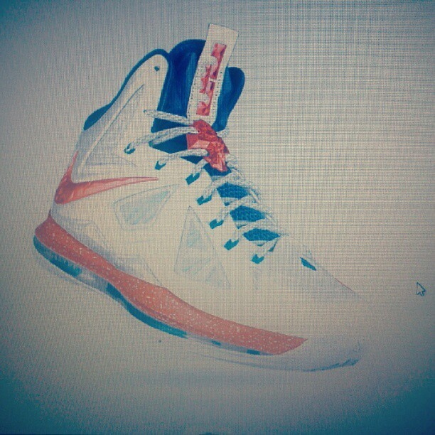 Foolin around on nikeid…fontay montana @nicekicks  (Taken with Instagram)