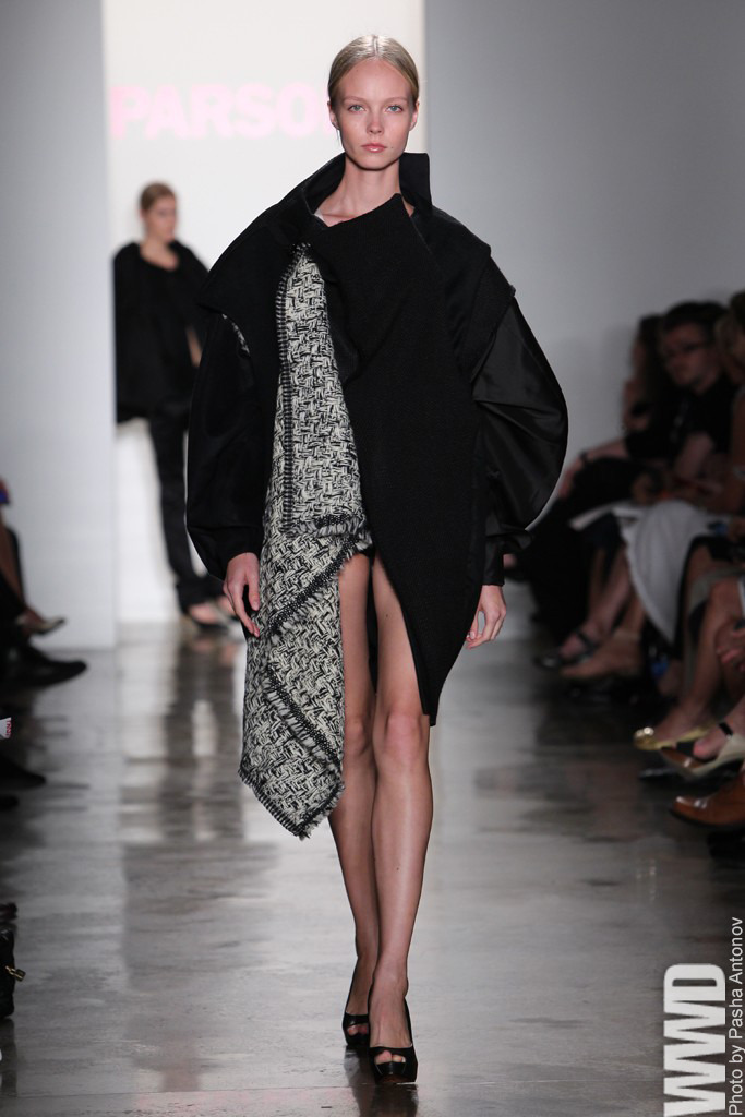 womensweardaily:  Parsons Presents Graduate Thesis Collections Claire Diederichs