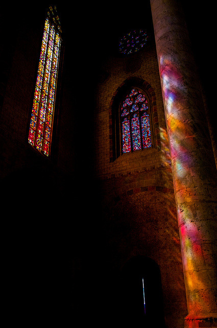 ashinningstar2012:  Colorfull Church by Gizzernl on Flickr.