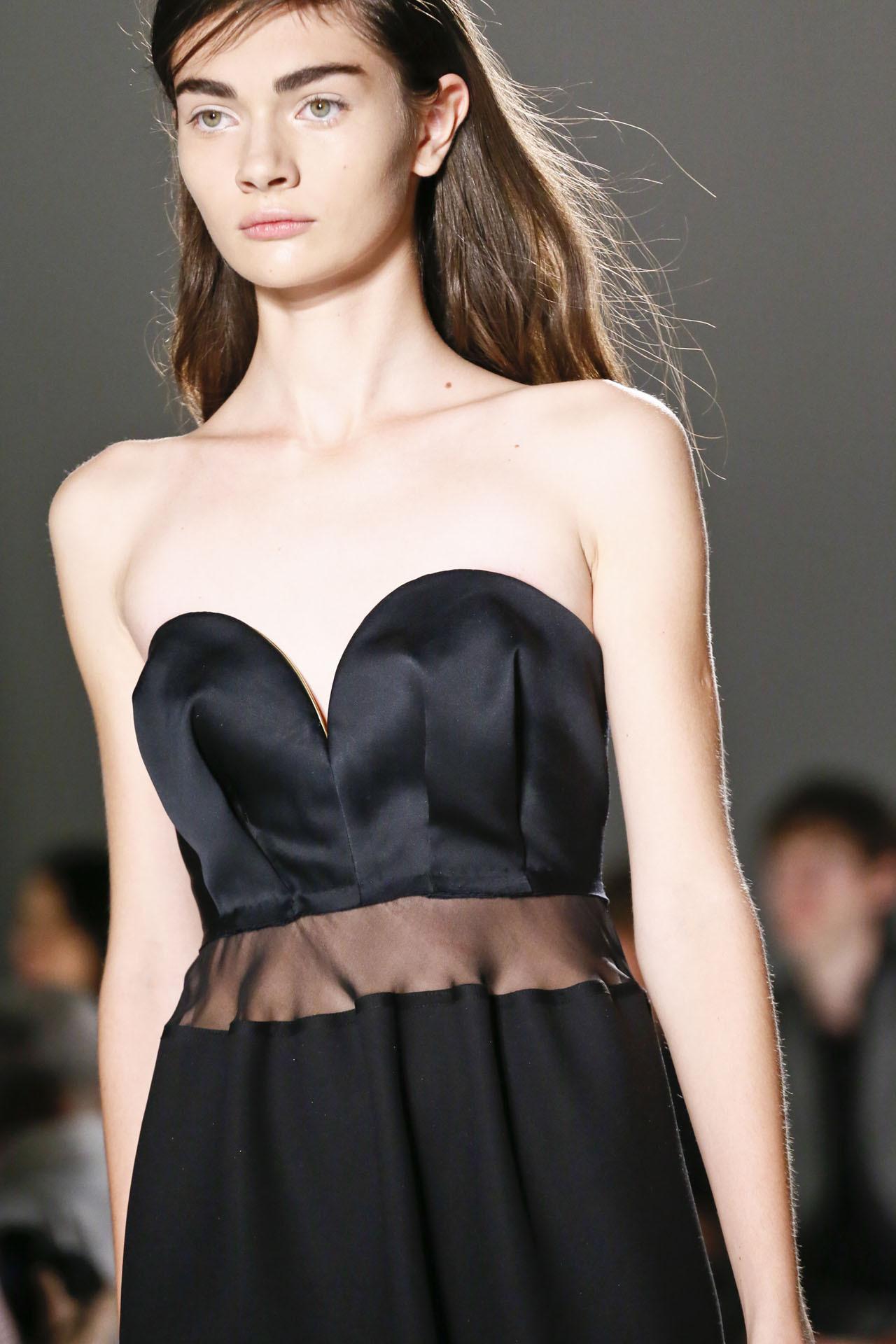 Tonya Vasylchenko - Calvin Klein Spring/Summer 2013