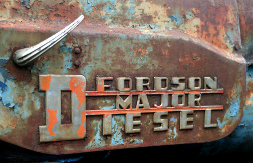 chromeography:  Fordson Major Diesel (by delicious Industries)