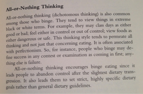 healthiie:  From 'Overcoming Binge Eating' by Dr. Christopher Fairburn.