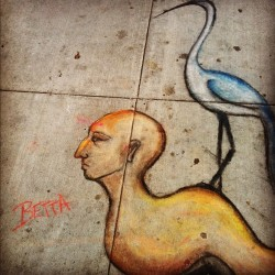 #spotted in #arcata: #graffiti by #betta! #streetart #humboldt #weird (Taken with Instagram)