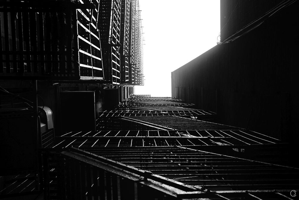 From the series Stairway, 18 St. & Broadway, Manhattan.