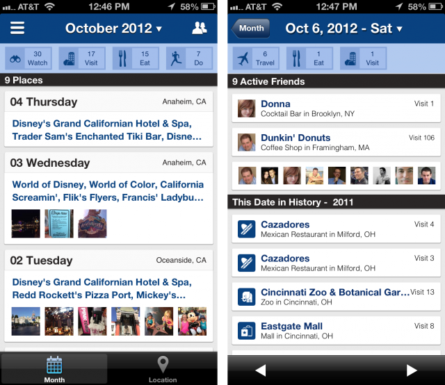 [Rewind's] redesigned app will soon add support for Facebook and Instagram check-ins to help better understand the places your friends on those services have been. In the coming weeks, they'll be turning on the scoring system, where you'll essentially develop a Klout-like score based on your knowledge of certain types of venues. The hope is that a Mexican restaurant, for instance, will be able to reach out to and reward the users who are most knowledgable — and thus most influential — about Mexican restaurants. (via Rewind.me redesigned from the ground up to help better understand your foursquare history)