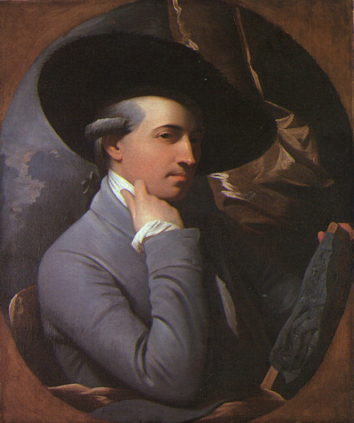 OCTOBER 10: HAPPY BIRTHDAY BENJAMIN WEST! If he were alive today, there would be 274 candles on the famous painter's cake. Born in 1738, the American artist's renowned works 'come to define the British Empire.' The peek of his career coincided with the French and Indian War, during which time he created one of the most famous battle-scene paintings, The Death of General Wolfe (1776). He lived and worked in both the United States as well as England, where he died in 1820 at the age of 81.  The William L. Clements Library at U of M owns one version of this famous masterpiece, which is currently on display at UMMA as part of the exhibition Benjamin West: General Wolfe and the Art of an Empire (on view through January 13). And just so you know, Mr. West, here is your horoscope for 2012. Thanks Astrolog.com! You might meet somebody in October 2012 that will make your heart beat or experience special moments at the side of the person you're already fond of. Words will have aphrodisiac effects and communication will be highly influential. You might take a trip on sentimental purposes and have all sorts of initiatives, one braver than the next one, maybe even risky. In fact, in October 2012 most of your decisions will be emotionally motivated. by Nina Levin