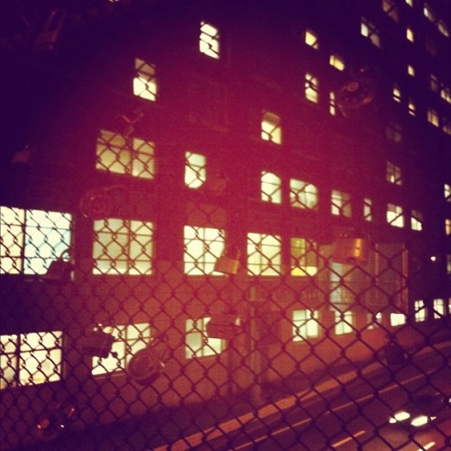 nightclubjitters:  Need a lock? #lock #bridge #allston #city #fence (Taken with Instagram)