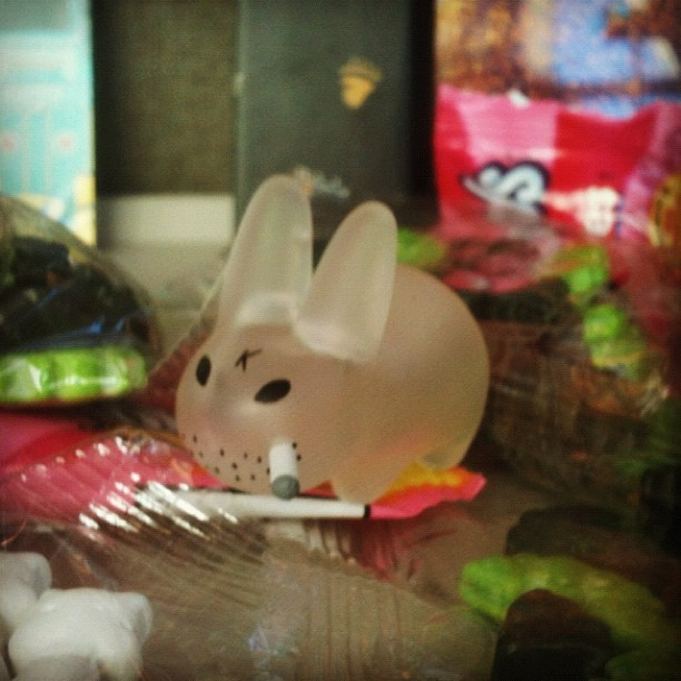 Ghost. #smorkinlabbit #frankkozic #kidrobot (Taken with Instagram)