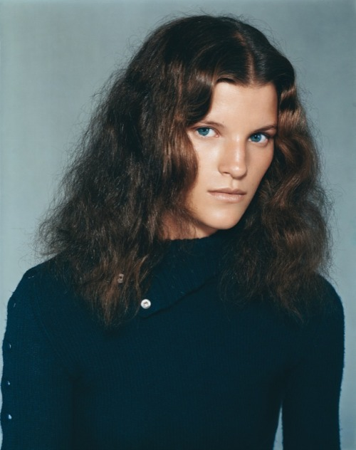 thefashiondontlivewithoutvogue:  Madeleine Blomberg by Richard Bush for Self Service #19 Fall/Winter 03.02