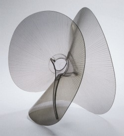 """Spheric Theme: Transparent Variation"", c. 1937  By: NAUM GABO…."