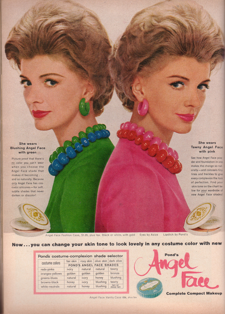 "lulufrost:  ""Coordinate with your Costume"" Suburban Glamour, 1961"