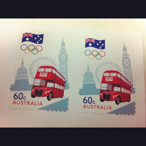 londonn-calling:  Got a letter today from my friend in Australia! Cute stamp 🇬🇧🇬🇧😉 #london #england (Taken with Instagram)