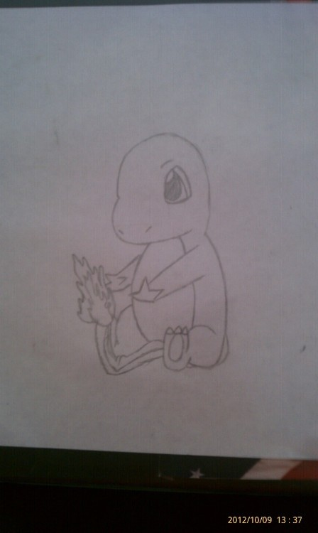 Charmander I Drew For My Boyfriend :D