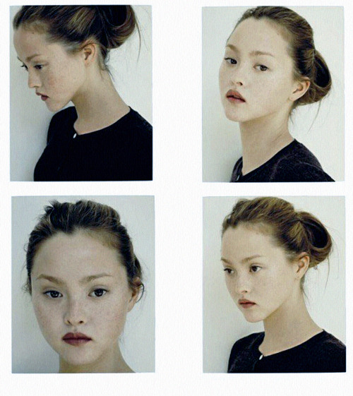 american-idolatry:  Devon Aoki polaroids, 1 Model Management, 2009