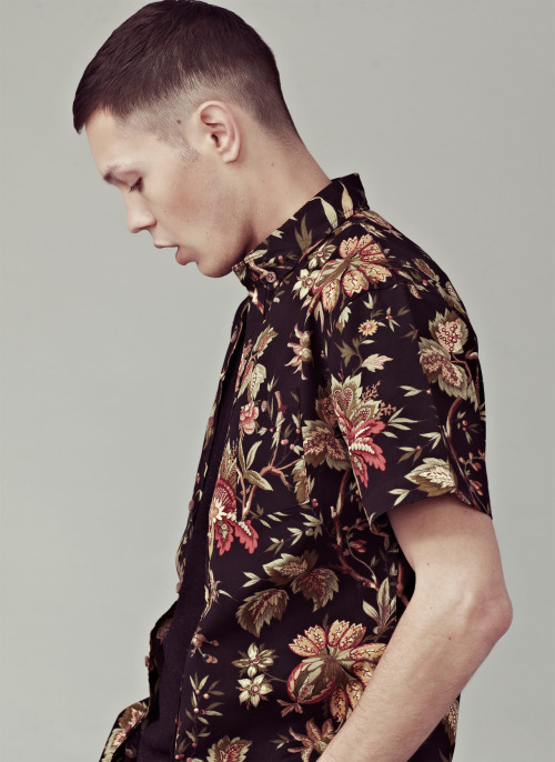 I Love Ugly | blacked out floral shirt. | Premium Mens Clothing  - I Love Ugly