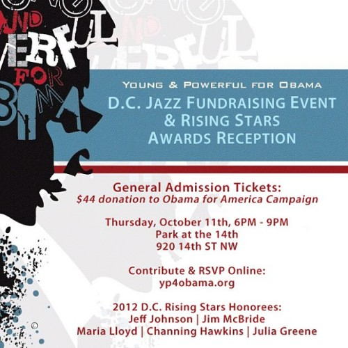 Young and Powerful for Obama. 10.11.12. #thepark #fundraising #forward #obama #youngandpowerful (Taken with Instagram)