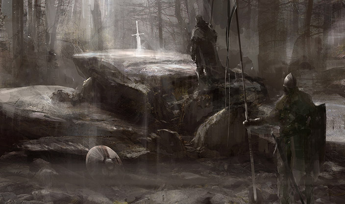 Sword and the Stone, by Richard Anderson.
