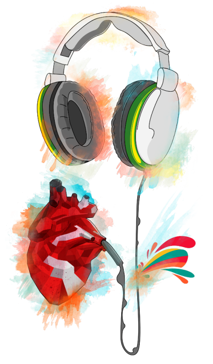 "cardiac-art:  ""Listen to the Heartbeat"" by Martin Vinš"