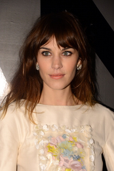 earlysunsetsovermonroeville:  Alexa Chung attends the celebration of CHANEL FINE JEWELRY'S 80th anniversary of the 'Bijoux De Diamants' collection created by Gabrielle Chanel on October 9, 2012 in New York City.