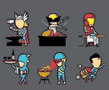 Superheroes Summer Jobs