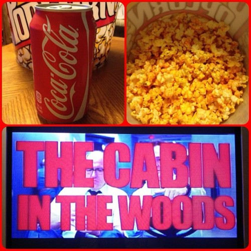 Cola, Corn, Cabin. (Taken with Instagram)