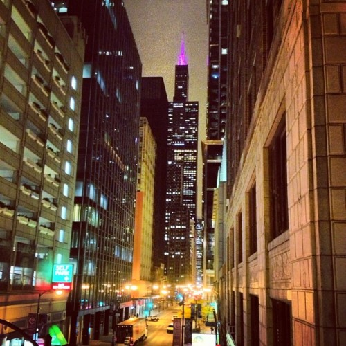 zxro0:  #chicago  (Taken with Instagram)