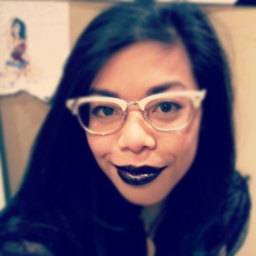 Black lipstick get! (Taken with Instagram)