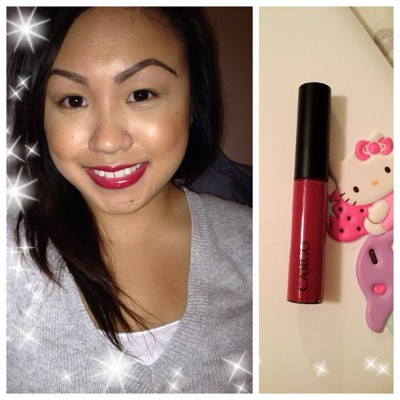 "kaepelaaaagio:  First time trying this @cargocosmetics lipgloss in ""Paris"" that I got at @sephora for $4 last week. It's sold for $14 elsewhere. Guess Cargo's breaking their contract with Sephora Never underestimate the clearance section 😏 #sephora #clearance #cargocosmetics #cargo #cargolipgloss #lipgloss #perfectforfall (Taken with Instagram)"