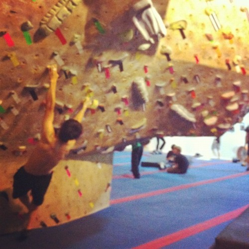 Gym. #climbers are #cooler (Taken with Instagram at Pipeworks)