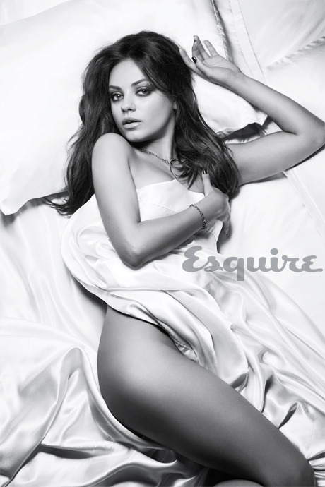 Mila Kunis photographed by Chris Watts for Esquire, November 2012