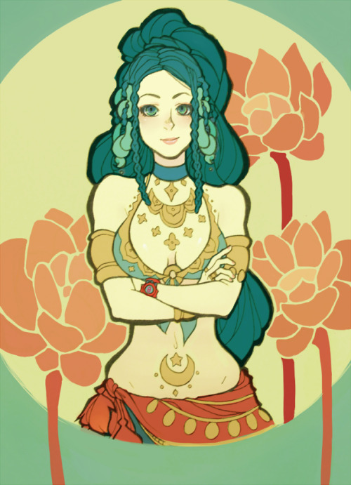 weeabooparadise:  lotus turned out to be a super cool character, a little disappointed she didn't end up being zero though. my 999th post on the 9th hurr