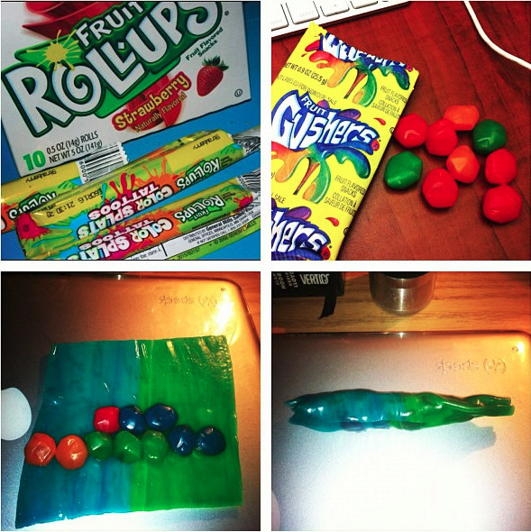 iamsharpay:  a fruit roll up blunt