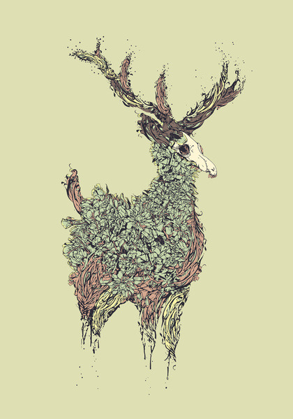 Beautiful Deer, Diego Verhagen