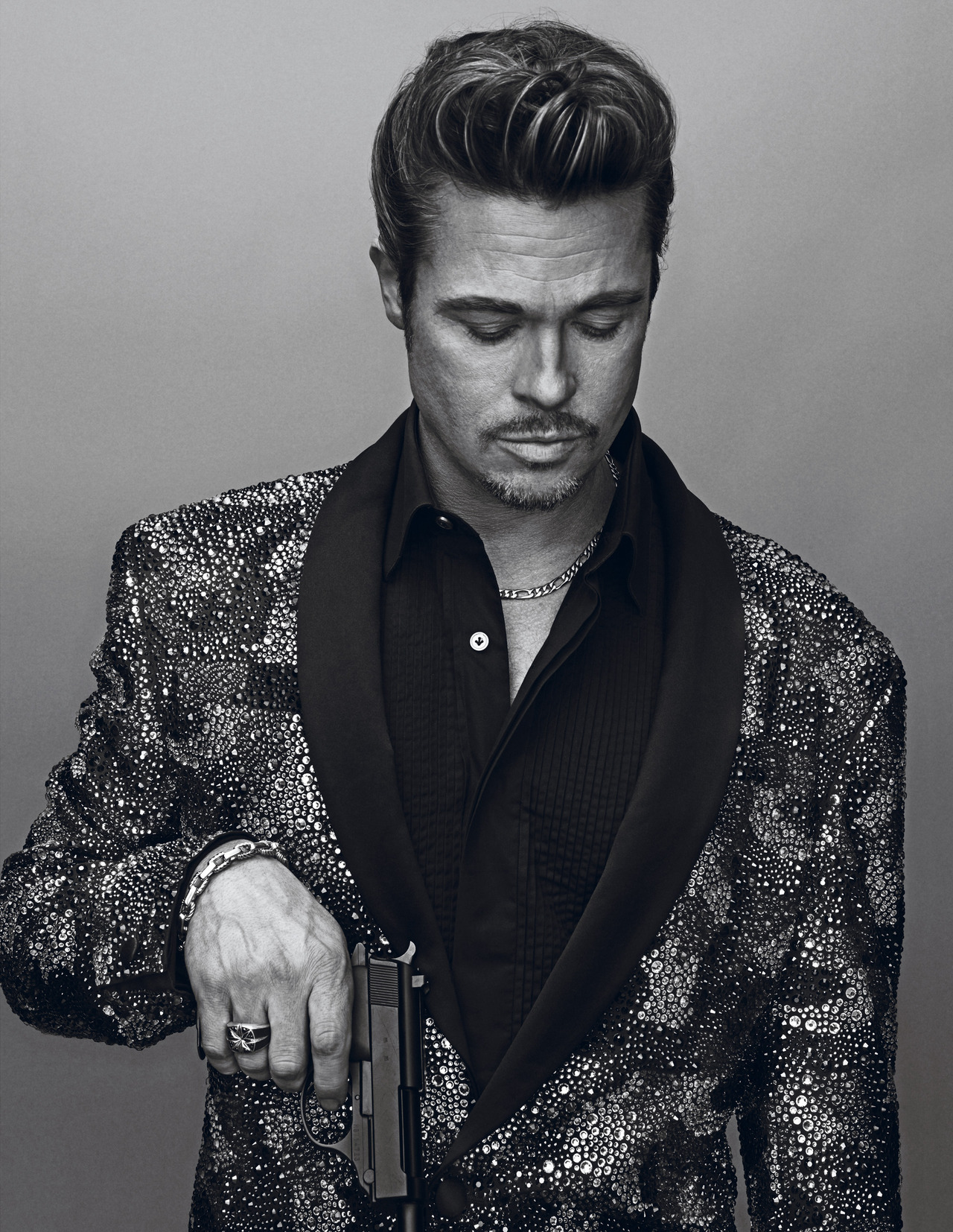 gasstation:  Brad Pitt photographed by Steven Klein for Interview, November 2012