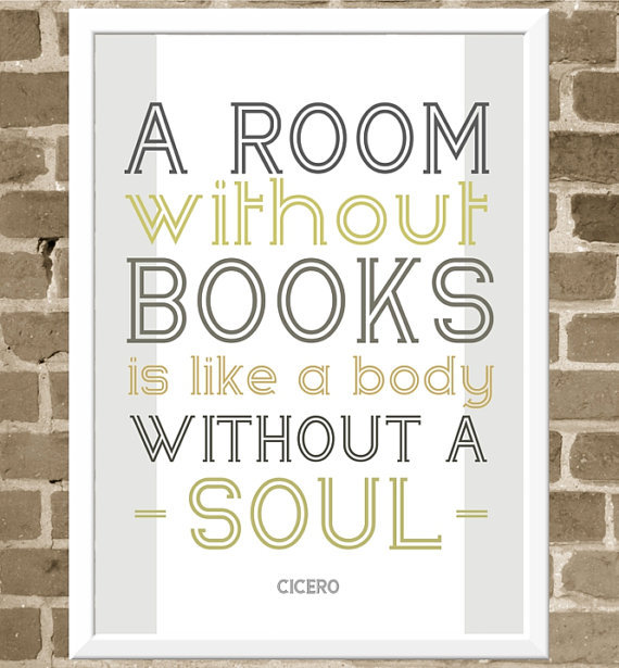 A Room Without Books… by Flourish Cafe