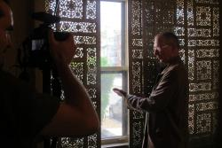 DDFR.tv - Jimmy Heath video shoot at Louis Armstrong House Museum