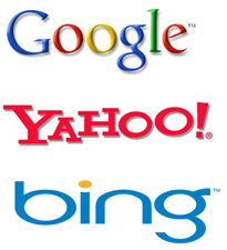 The big three search engines