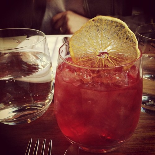 Negroni Movida style  (Taken with Instagram)