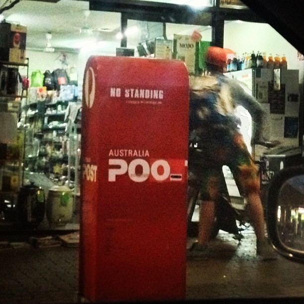 Oh Brisbane… #poo (Taken with Instagram)