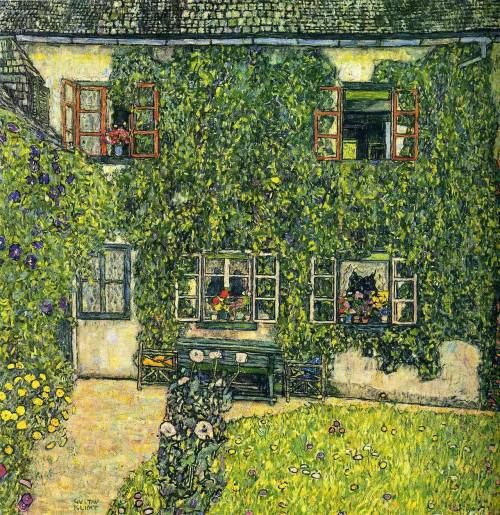 Gustav Klimt- The House of Guardaboschi (1912)