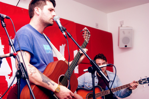 Lower Than Atlantis performing live at Kerrang! Radio 09/10/2012.  See the rest of my photos here.