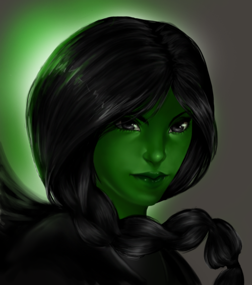 (via :Elphaba: Wicked: by *punkaspazer on deviantART)