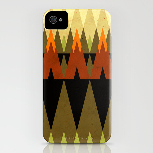 living in the woods // by Yetiland IPHONE CASE (4S) $35.00 I'm having a bit of an internal struggle in trying to justify spending $35 on a new case for my phone.. At the moment I don't know which one of me is winning. O.o